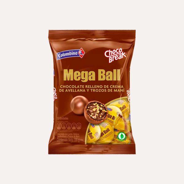 MegaBall ChocoBreak piragua