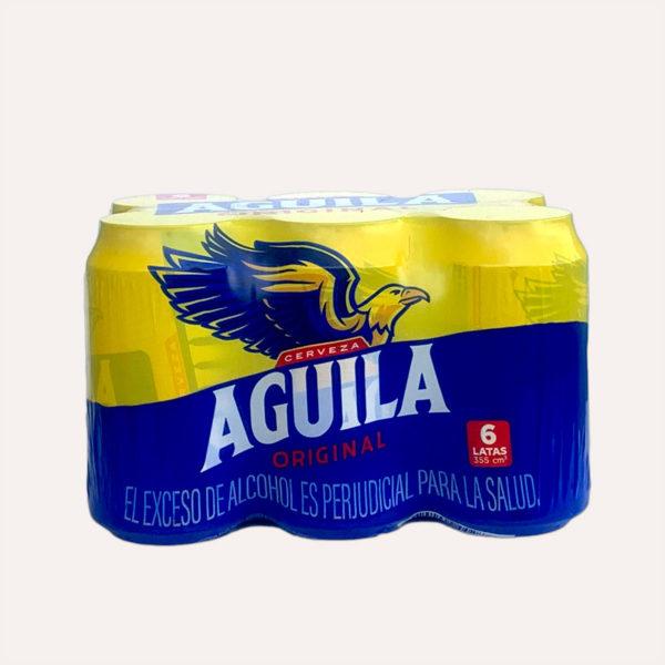 aguila sixpack piragua