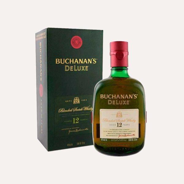 buchanans 12 años 750 piragua