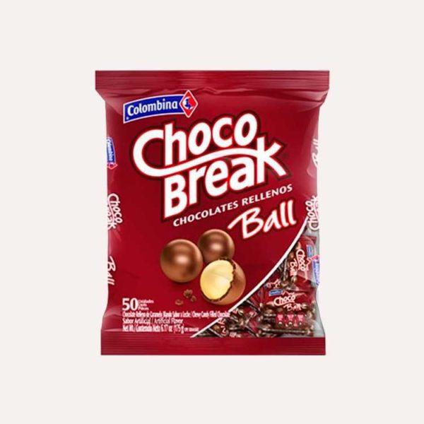chocobreak ball 50 piragua