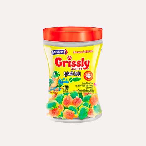 grissly splash acid bombonera 100 piragua