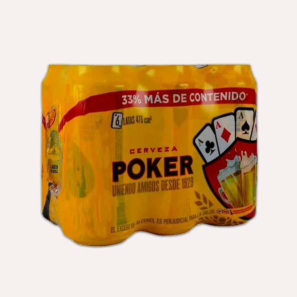 poker six pack 473 piragua