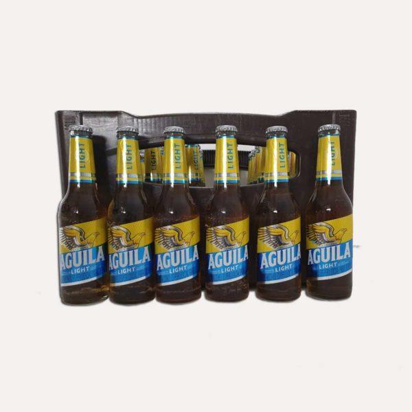 cerveza aguila light canasta piragua full compra