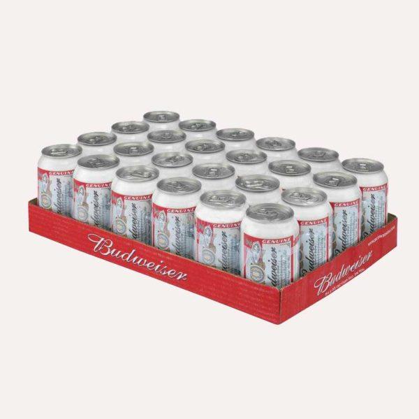 cerveza budweiser 24 piragua full compra