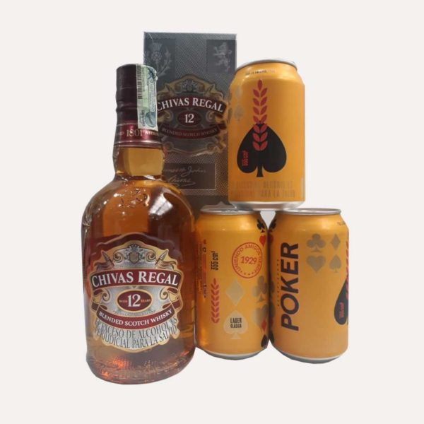 whisky chivas 700ml poker piragua full compra