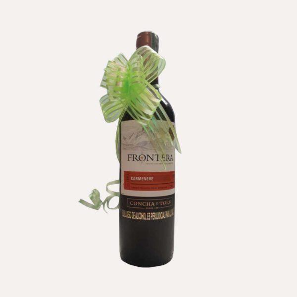 Vino Frontera Carmenere 750 piragua full compra
