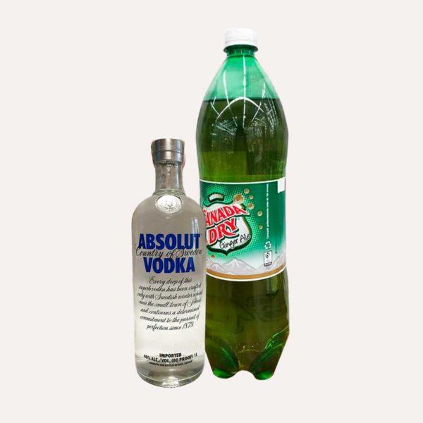 vodka absolut piragua full compra