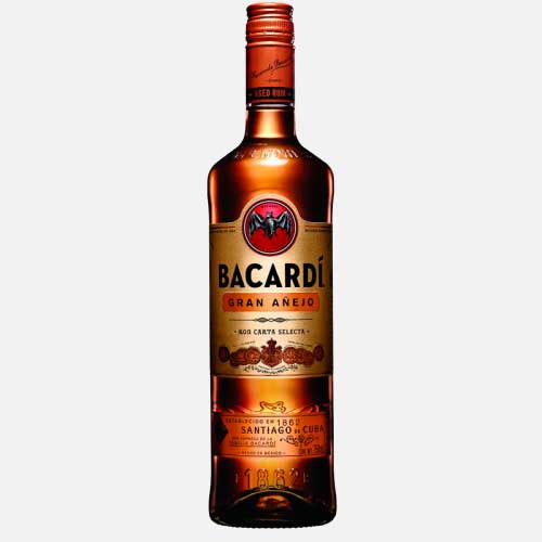 ron bacardi gran añejo 750 piragua full compra