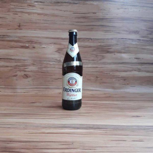 Cerveza Importada Erdinger Weibbier x 500 piragua full compra