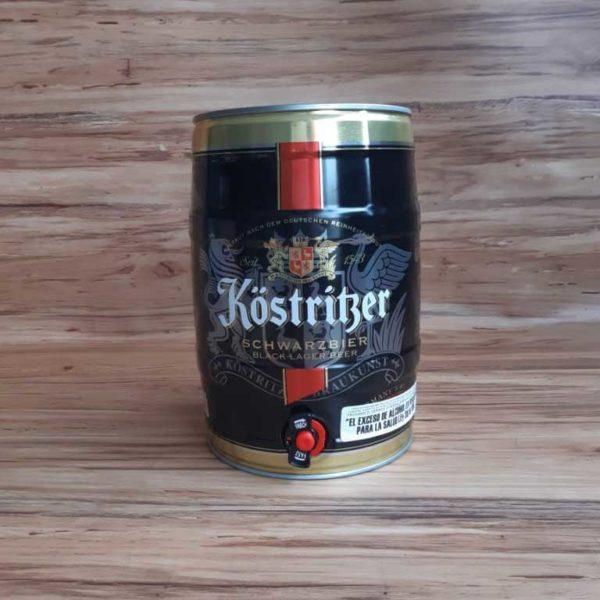 Cerveza Importada Kostritzer Schwarzbier 5 Litros