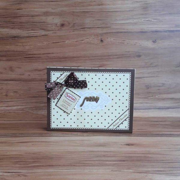 Estuche Chocolate Sorini Scatola Pois 190 piragua full compra