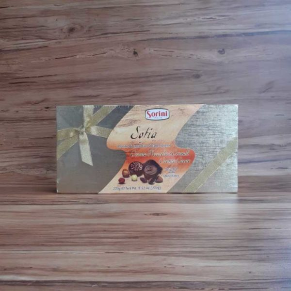 Estuche Chocolate Sorini Sofía 270 piragua full compra