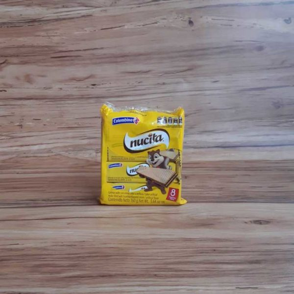 Galletas Nucita Wafer 8 piragua full compra