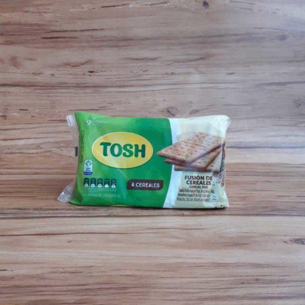 Galletas Tosh Fusion de Cereales x 9 piragua full compra