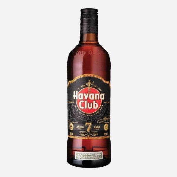 ron havana club 7 años 750 piragua full compra