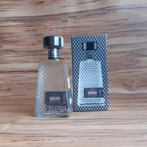 tequila 1800 cristalino añejo 700 piragua full compra