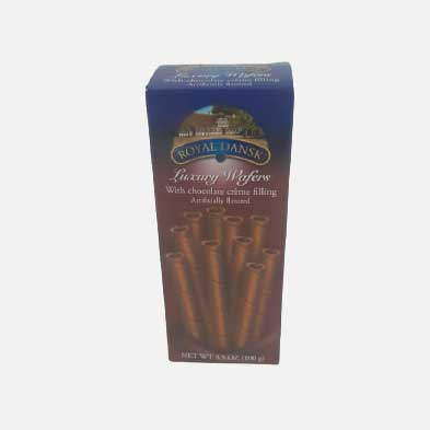 Barquillo Royal Dansk chocolate x 100 g piragua full compra