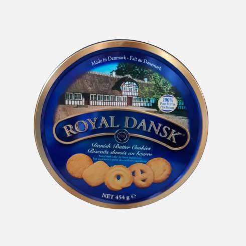 Galletas Danesas Royal Dansk lata x 454 g piragua full compra