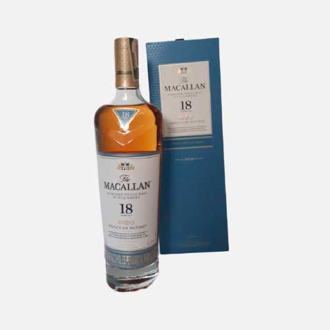 Whisky Macallan triple Cask 18 años x 700ml piragua full compra