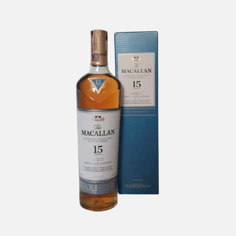 Whisky Macallan triple cask 15 años x 700 ml piragua full compra