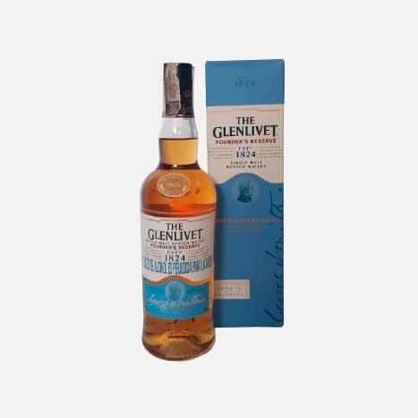 Whisky The Glenlivet Found Reserve x 700ml piragua full compra