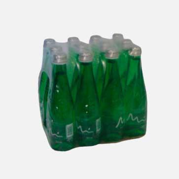 agua manantial gas vidrio 300 ml x 12 piragua full compra