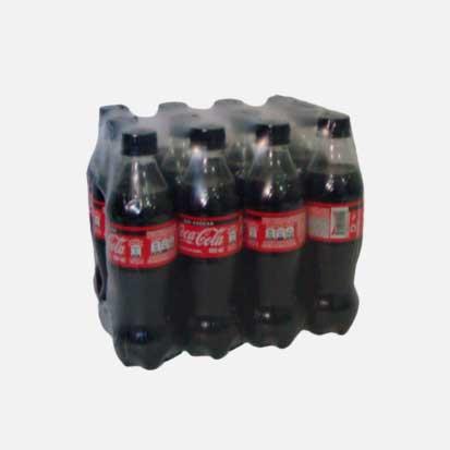coca cola pet 400 ml sin azucar x 12 piragua full compra