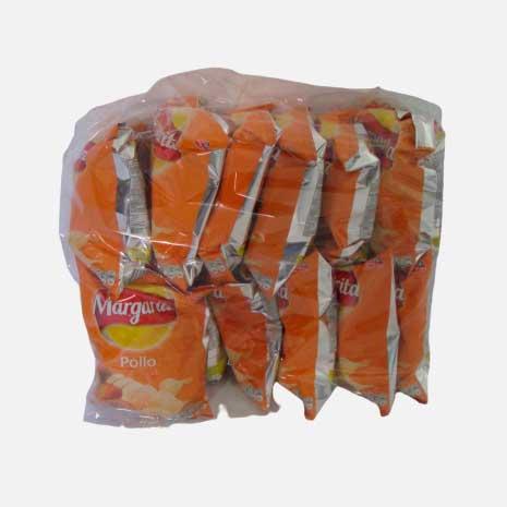 papas margarita pollo 25 g 12 uds piragua full compra