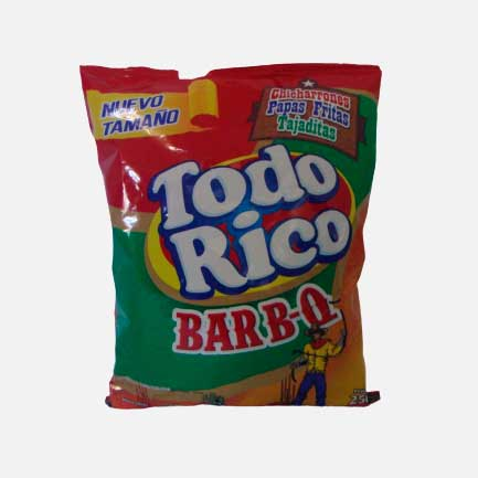 Todo Rico BBQ 250 g piragua full compra