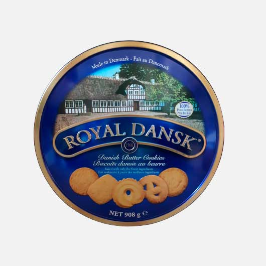 Galleta Royal Dansk Lata X 908g piragua full compra