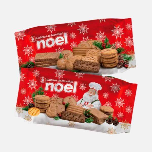 Galletas Navidad Noel Plegadiza 200g piragua full compra