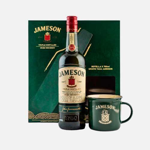 Whisky jameson 700ml gratis taza piragua full compra