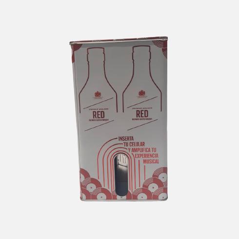 Pack Johnnie Walker Red Label 2 uds 700ml piragua full compra