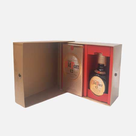 Pack Whisky Old Parr 750 ml + Old Parr 500 ml piragua full compra