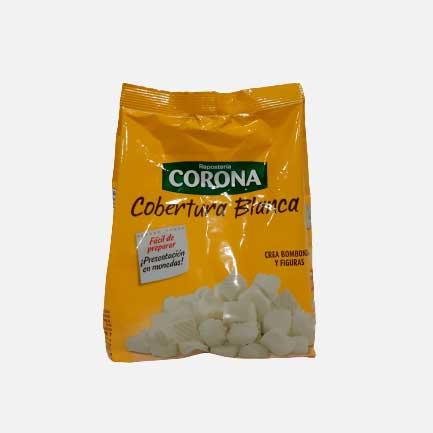Cobertura Blanca Corona 500 g piragua full compra