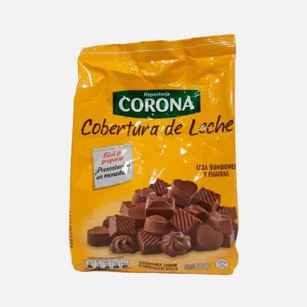 Cobertura de Leche Corona 500 g piragua full compra