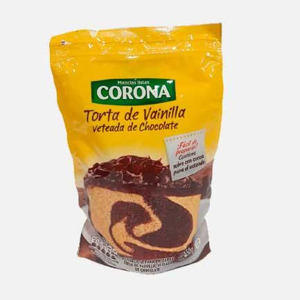 Premezcla Corona Torta de Vainilla Veteada 450 g piragua full compra