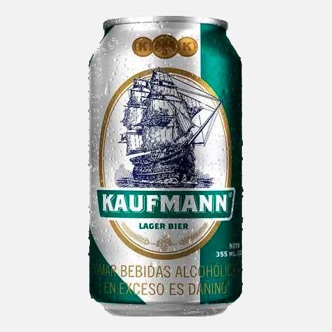 Cerveza Kaufmann Larger Bier Lata 330 ml piragua full compra