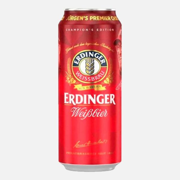 Cerveza Erdinger Lata 500 ml piragua full compra