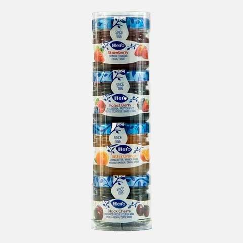 Estuche Mini Confituras Hero 4 frascos x 28.3 g piragua full compra