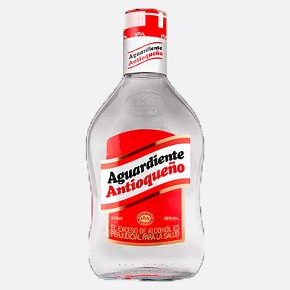 aguardiente antioqueño rojo 350 ml piragua full compra