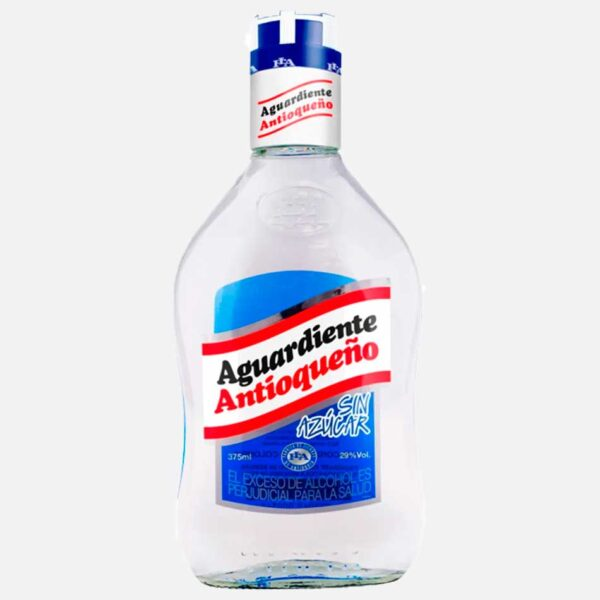 Aguardiente Antioqueño sin azúcar 375 ml piragua full compra