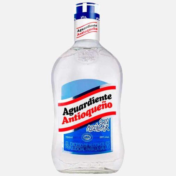 Aguardiente Antioqueño sin azúcar 750 ml piragua full compra