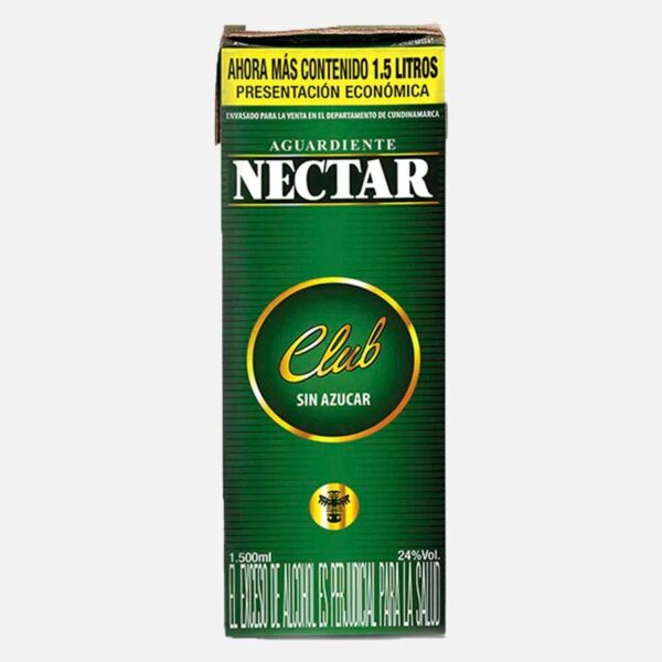 Aguardiente Néctar Club 1500 ml piragua full compra