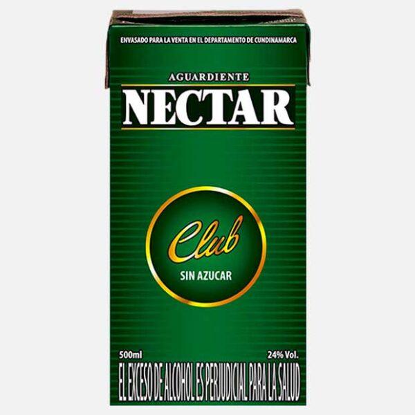 Aguardiente Néctar Club 500 ml piragua full compra