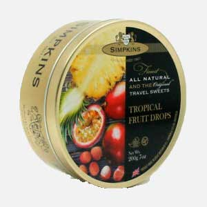 Simpkins Tropical Fruit 200 g piragua full compra