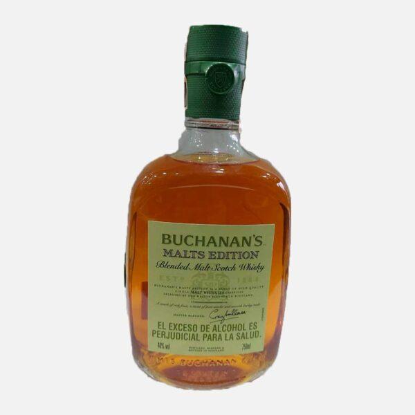 Whisky Buchanan's Malt Edition X 750 ml piragua full compra